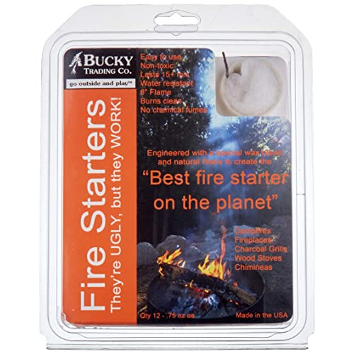 3 x 40 Fire starters Lighter Cubes Barbeque BBQ Grill Fire survival