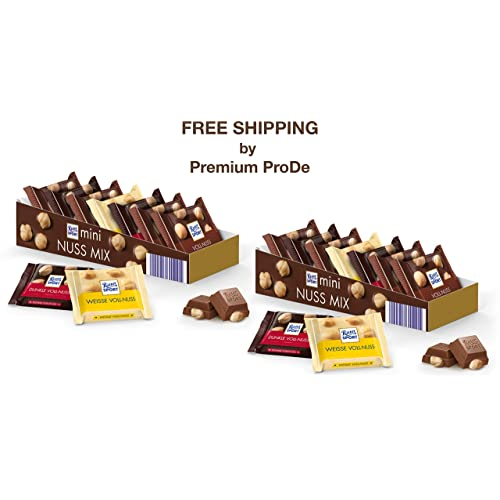 Mini Nut Mix Chocolate Variety 2 X 116 G Ritter Sport Germany Buy Products Online With Ubuy Kuwait In Affordable Prices B07pblb8tg