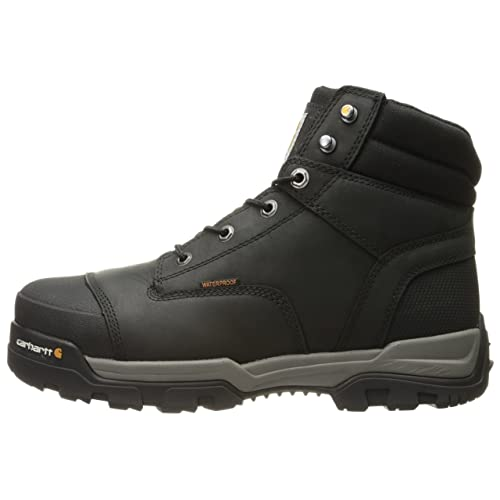 2c29d579fce Buy Carhartt Men's 6 Energy Black Waterproof Composite Toe CME6351 ...