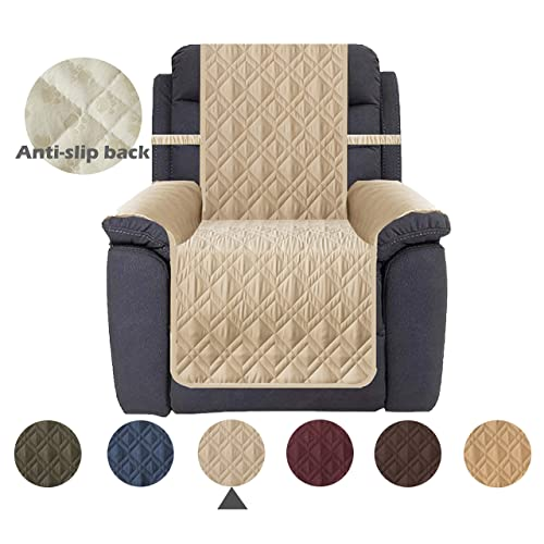 New Turquoize Waterproof Chair Protector for Leather Recliner Covers for Dogs..