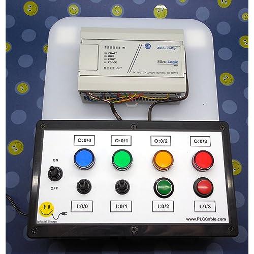 Buy ALLEN BRADLEY MICROLOGIX 1000 PLC TRAINER ~ PLC TRAINING STARTER