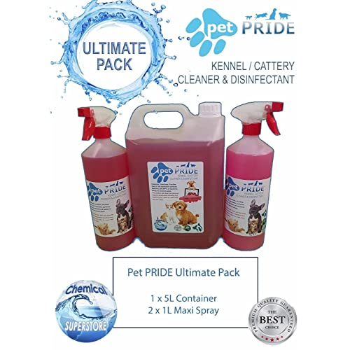 TRADE Chem 2 x 5L FRESH PET URINE SMELL ODOUR REMOVER STRAWBERRY