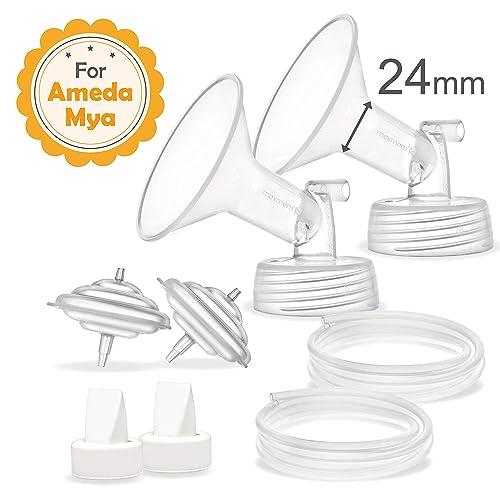 Maymom Tubes for Ameda MYA Pump Ameda MYA Pro Pump Not Original Ameda MYA Tubes Not Original Ameda MYA Breast Pump Accessories Not Original Ameda MYA Breast Pump Parts; Made by Maymom