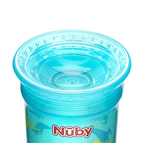 Pack of 2 Nuby Sipeez 360 Degree Wonder Maxi Cups Assorted Designs