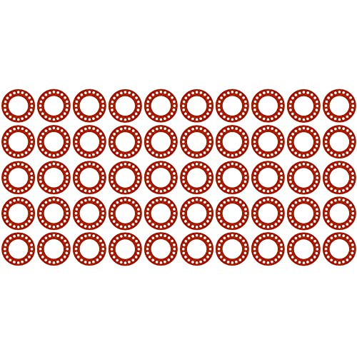 Pressure Class 300# 1//16 Thick Pack of 10 Sterling Seal CFF7237.800.062.300X10 7237 Red Rubber Full Face Gasket 8 Pipe Size 8.62 ID