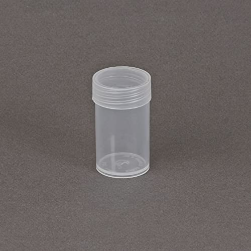 100 NEW BCW ROUND NICKEL CLEAR PLASTIC COIN STORAGE TUBES W// SCREW ON CAPS