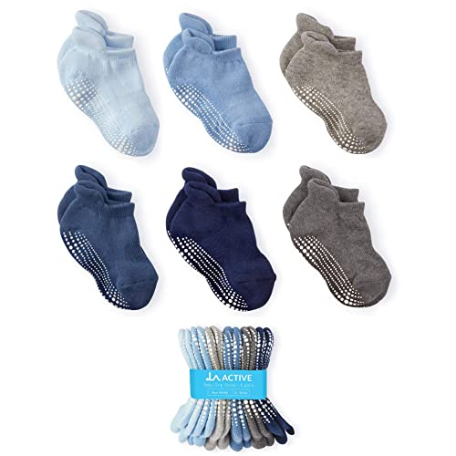 LAVIQUE/® 6 /& 12 Pair Kids Todlers Low Cut Socks Baby Socks Colored Heel and Toe Mix /& Match Junior UK Size 3-5