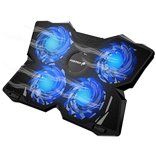 2pack Laptop Notebook Cooling Fan 2 USB Adjustable Height Fits 12-17 Inch PC TO