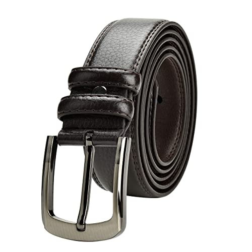 Men Tactical Belt Heavy Duty Nylon Webbing Military Belt for up to 64 Waist with Metal Buckle 45-50 Waist, Black