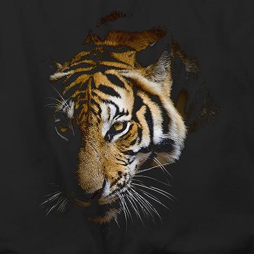 Mens Tiger T Shirts Indian Bengal Tiger White Snow Tiger Cubs T shirts FREE P/&P
