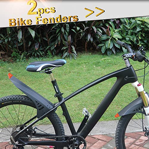 BICYCLE CYCLING FRONT REAR MUD GUARDS MUD SET MOUNTAIN BIKE TIRE FENDERS SPORT