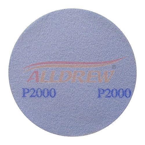 150mm Wet and Dry Sanding Discs 10x 80 120 180 240 320 GRIT Hook and Loop Plain Waterproof 6 Sandpaper 50pcs Mixed