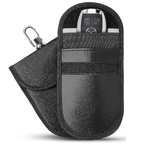 Buy Faraday Bag Faraday Key Fob Protector, Car RFID Signal Blocking
