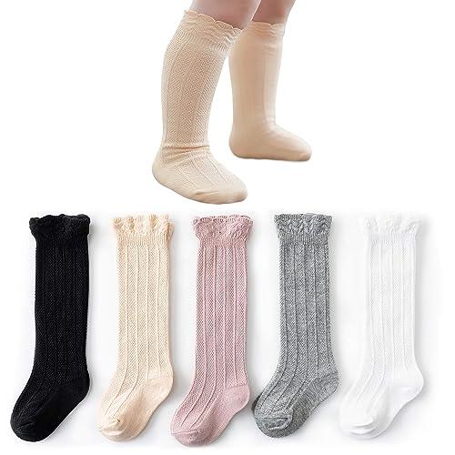 High Elasticity Girl Cotton Knee High Socks Uniform Cold Winter Panda Women Tube Socks