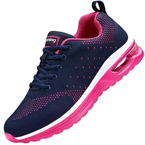 adituob Womens Air Cushion Running Shoes Breathable Walking Gym Fitness Athletic Sports Sneakers