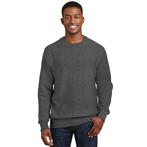 Sport-Tek Super Heavyweight 1//4-Zip Pullover Sweatshirt3XL Graphite Heather