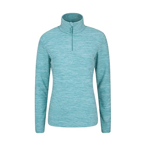 Comfortable Sweater Warm Tee Half Zip Mountain Warehouse Merino Mens Long Sleeved Thermal Baselayer Top Breathable Jumper for Camping in Winter