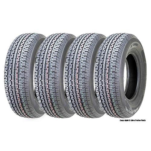 One New Premium Grand Ride Trailer Tire ST205 75R14 //8PR Load Range D