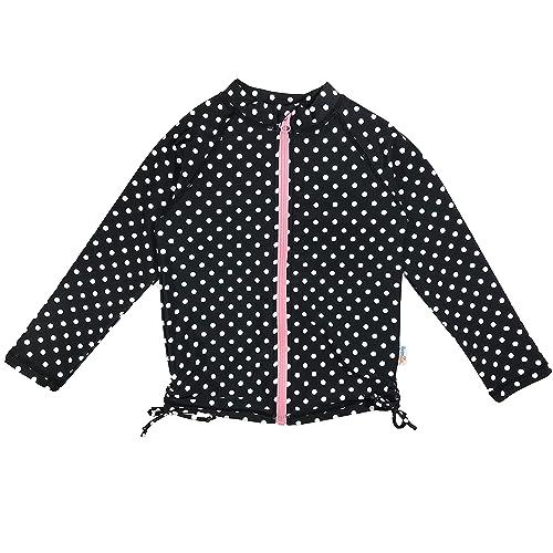 Size 12-14 Long Sleeve Girl Rash Guard by SwimZip Cutie Cruiser