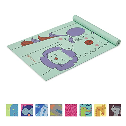 Gaiam Kids Yoga Mat Exercise Mat Yoga For Kids With Fun Prints Playtime For Babies Active Calm Toddlers And Young Children Buy Products Online With Ubuy Kuwait In Affordable
