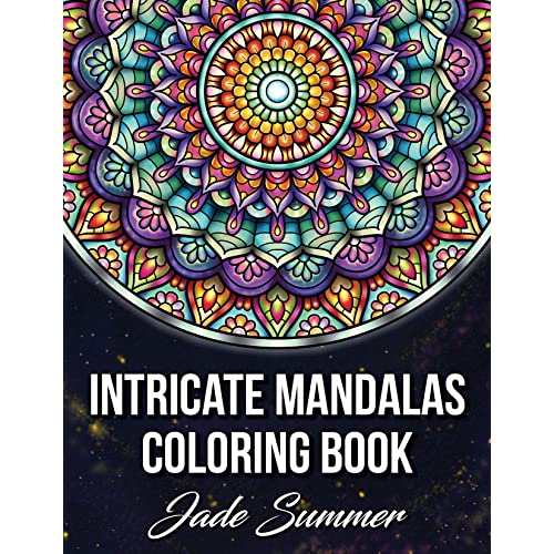 - Intricate Mandalas: An Adult Coloring Book With 50 Detailed Mandalas For  Relaxation And Stress Relief (Intricate Coloring Books For Adults)  Paperback – Large Print, 22 July 2019 Buy Products Online With