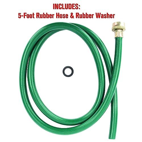 LDR 504 1300 5/' Rubber Utility Drain Hose