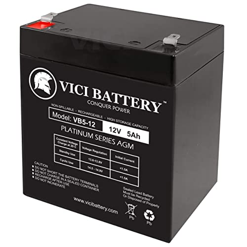 VICI Battery 12V 5AH SLA Battery for Belkin Office Series 550VA Brand Product