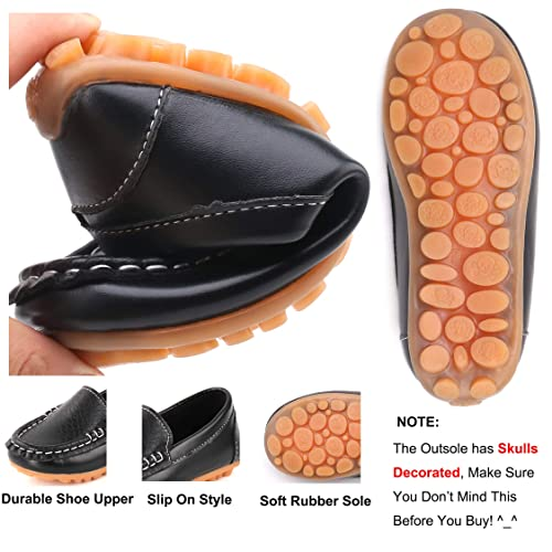 36006dcbd3b91 Buy Moceen Toddler Boys Girls Loafer Shoes Soft Synthetic Leather ...