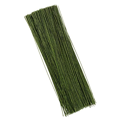 50 Pieces 18 Gauge Floral Wire Stem Wire Dark Green Floral Paper Wrapped Wire for Flower Bouquets and DIY Crafts 100 Pieces 26 Gauge 100 Pieces 22 Gauge