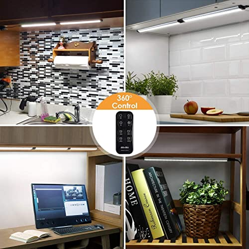 huge selection of 312b1 1e4d6 Buy Albrillo Dimmable LED Under Cabinet Lighting with Remote ...