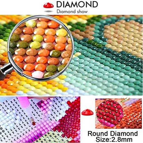 Diamond Painting Adult Art Full Circular Drill 5D kit Paint Embroidery Numbers Crystal Rhinestone Arts and Crafts for Home by SEA SEA