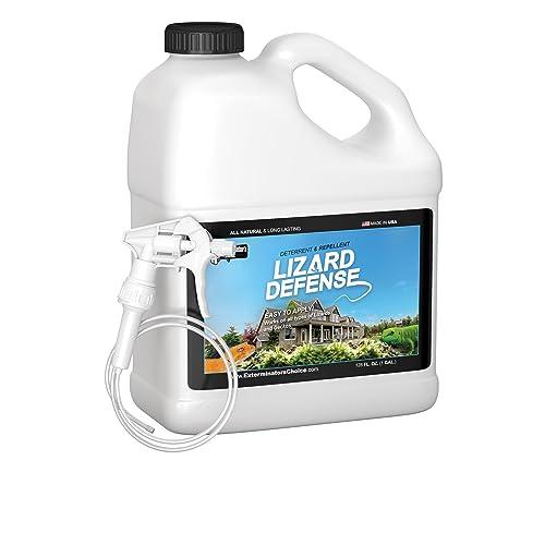 Buy Lizard Defense One Gallon (128 oz) Natural Repellent and