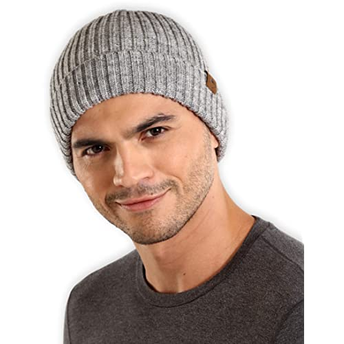 d33f33b1 Tough Headwear Cuff Beanie Watch Cap - Warm, Stretchy & Soft Knit Hats  for