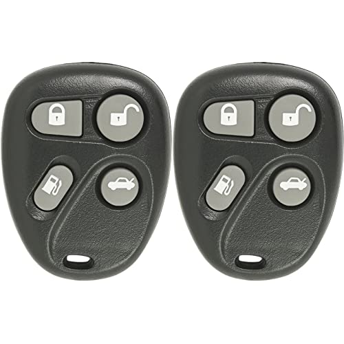 Keyless2Go Keyless Entry Car Key Fob Replacement for Vehicles That Use 3 Button L2C0007T 10335583 Remote