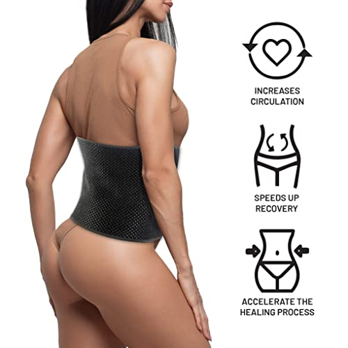 Abdomen Surgeries Tummy Tuck Bladder /& Gastric Bypass I S//M Everyday Medical Abdominal Binder Post Surgery I Bamboo Charcoal Fabric Accelerates Healing and Reduce Swelling After C-Section