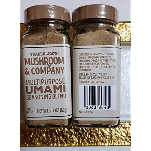 Trader Joe S Mushroom Company Multipurpose Umami Seasoning Blend Net Wt 2 1 Oz Pack Of 2 Buy Products Online With Ubuy Kuwait In Affordable Prices B07mgw5987