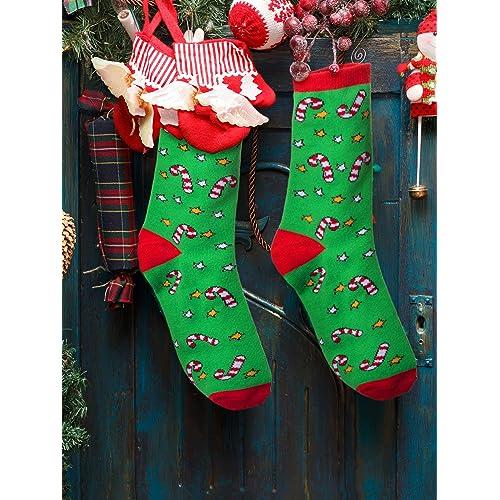 Mens Unisex Novelty Christmas Socks Funny Father Xmas Snowman Fun Funny 6-11