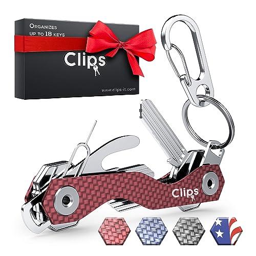 Key Holder Keyring Smart Compact Key Organizer Keychain Key Chain Pocket Key Keeper up to 12 Keys with Stainless Steel Screws Bottle Opener//Phone Stand Folding Keychain Multitool