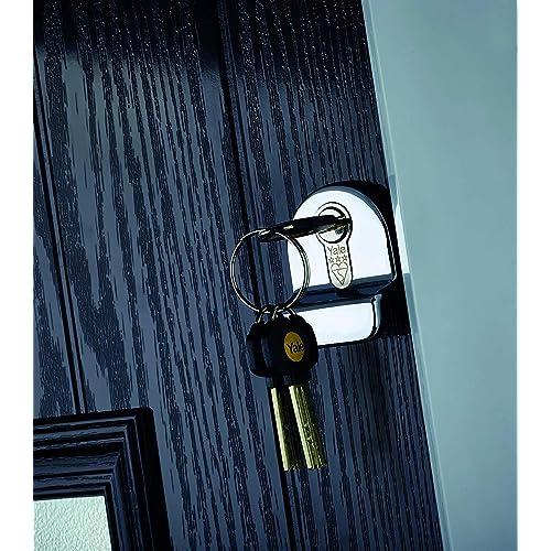3 Extra Keys 95mm 6 Total Brass YALE Platinum 3 Star Euro Cylinder Anti Snap Bump High Security uPVC Door Barrel TS2007:2013 Lock 55//40