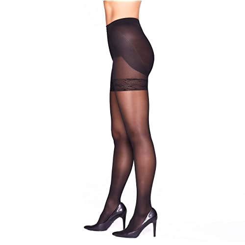 8-15mmHg Women/'s Tights Compression Pantyhose Support Stocking Control Top S