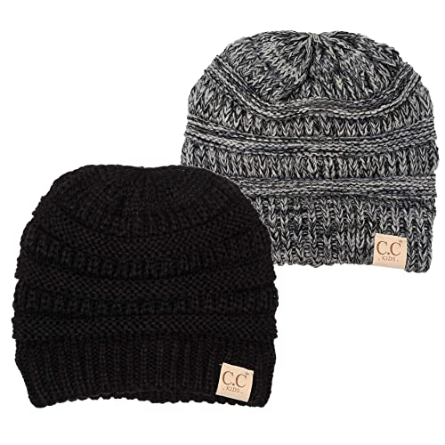 cb6ca6291f8e1 Buy Funky Junque Kids Baby Toddler Ribbed Knit Children's Winter Hat Beanie  Cap with Ubuy Kuwait. B07GZBB9FB