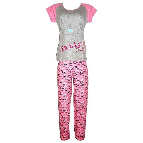 Ladies Girls Shortie Ariel Wonder Woman Minnie Tatty Eeyore Novelty Pyjams 8-22