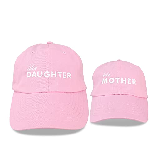 DALIX Mommy and Me Trucker Hats Mom and Daughter Father and Son Caps Baby Caps