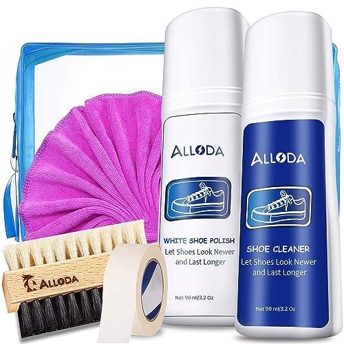 Shoe Cleaning Kit/&Set 3 Brush Suede//Sneaker Shoe Cleaner kit Foam Shoe Cleaner Alloda