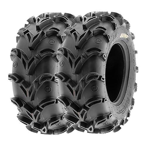 Trail Wheels & Tires Set of 4 WANDA ATV UTV Tires 27x9-12 27x9x12 ...