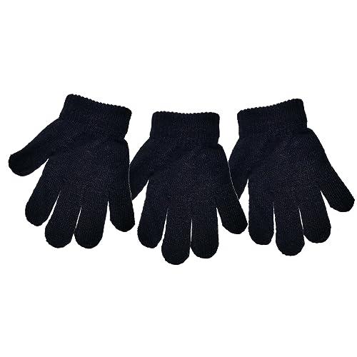 Childrens Magic Gloves Full Finger Pack of 3