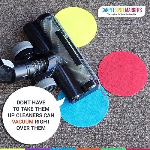 30pcs Reusable Spot Sit Markers for Carpet Floor Spots for Classroom Kids