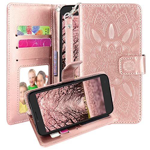 Buy Harryshell Kickstand Flip PU Leather Protective Wallet Case