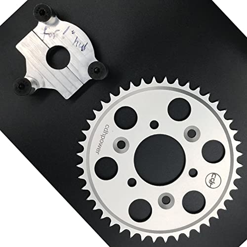 """CDHPOWER Hub Adapter 1/"""" and Multifunctional 40T sprocket for 2 stroke engine kit"""