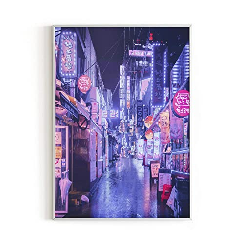 Buy Neon Art And College Posters By Haus And Hues College Dorm Room Decorations Cool Posters For Guys Trippy Neon Room Decor Asian Art Neon Posters For Rooms Unframed Frameable 12x16